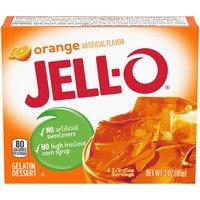 Jell-O Jell-O Orange Gelatin Mix, 3 Ounce