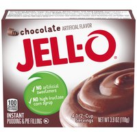 Jell-O Chocolate Instant Pudding Mix, 3.9 Ounce