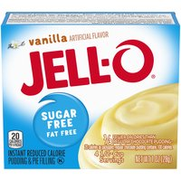 Jell-O Sugar-Free Vanilla Instant Pudding Mix, 1 Ounce