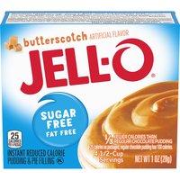Jell-O Sugar & Fat Free Pudding & Filling - Butterscotch, 1 Ounce