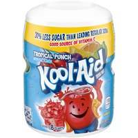 Kool-Aid Drink Mix - Tropical Punch, 19 Ounce
