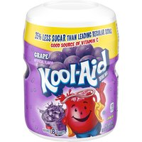 Kool-Aid Grape Soft Drink Mix Sugar Sweetened, 1.19 Pound