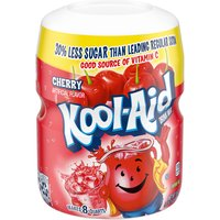 Kool-Aid Sugar Sweetened Cherry  Soft Drink Mix, 19 Ounce
