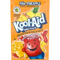 Kool-Aid Unsweetened Pina-Pineapple Soft Drink Mix, 0.14 Ounce