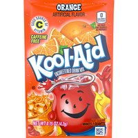 Kool-Aid Orange Unsweetened Drink Mix, 0.15 Ounce