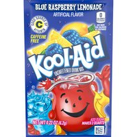 Kool-Aid Twists Ice Blue Raspberry Lemonade Soft Drink Mix, 0.22 Ounce