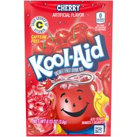 Kool-Aid Unsweetened Cherry Soft Drink Mix, 3.6 Gram