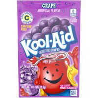 Kool-Aid Grape Unsweetened Drink Mix, 0.14 Ounce