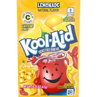 Kool-Aid Unsweetened Soft Drink Mix - Lemonade, 0.23 Ounce