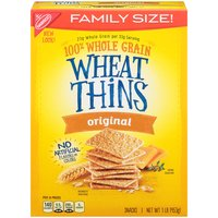 Discover the delicious 100% whole grain crunch of toasted Wheat Thins snacks. Wheat Thins are toasted instead of fried and contain no cholesterol or high-fructose corn syrup.
