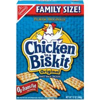 Chicken in a Biskit Crackers - Baked Snack Original, 12 Ounce