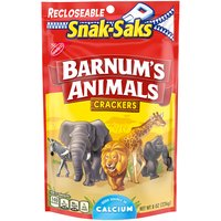 Barnum's Animal Crackers classic cookies have the same flavor you remember. Barnum's are low in saturated fat and are cholesterol free. They are also a good source of calcium.