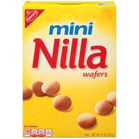 Nilla Wafers are round, vanilla flavored thin, crisp, sweet cookies. Nilla Mini Wafers are the Mini version of the original Nilla Wafers cookie.