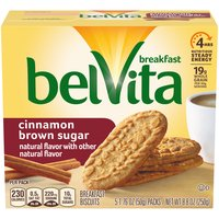 Belvita Cinnamon Brown Sugar Breakfast Biscuits - 5 Pack, 8.8 Ounce