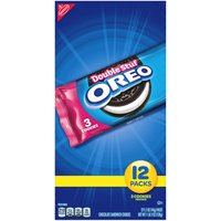 Supremely dunkable, Oreo Double Stuf Cookies sandwich even more rich creme filling between the bold taste of two chocolate wafers--making them milk's favorite cookie.