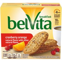 Belvita Cranberry Orange Breakfast Biscuits, 8.8 Ounce