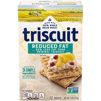 TRISCUIT Reduced Fat Crackers, 7.5 Ounce