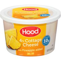 Hood Hood Cottage Cheese with Pineapple, 16 Ounce