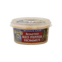 Simply delicious Cedar's Roasted, Red Pepper Hummus. Sealed for freshness.