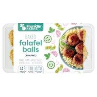 Franklin Farms Falafel Balls Baked, 9 Ounce