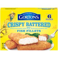Prep-free, mess-free, stress-free. Gorton's Crispy Battered Fish Fillets are dipped in freshly mixed batter for a golden-crisped, crunchy flavor. Fresh from the oven in just 25 minutes.
