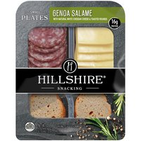 Hillshire Farm Genoa Salame And White Cheddar Cheese Snack Plate, 2.76 Ounce