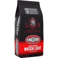 12.00 lb. Match Light Charcoal Briquettes requires no lighter fluid so lighting the grill is quick.