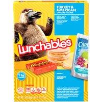 Oscar Mayer Lunchables Lean Turkey Lunch Combination Stacker, 1 Each