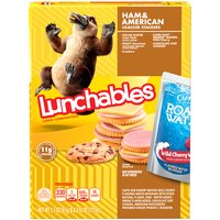 Oscar Mayer Lunchables Ham & American Cheese Lunch Combination Stacker, 1 Each