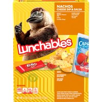 Oscar Mayer Lunchables Nachos Cheese Dip & Salsa Lunch Combinations, 1 Each