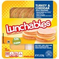 Oscar Mayer Lunchables Turkey & Cheddar With Crackers, 3.2 Ounce