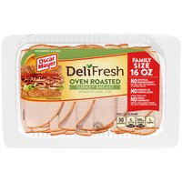 Oscar Mayer Oscar Mayer Deli Fresh Oven Roasted Turkey Breast, 1 Pound
