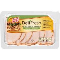 Oscar Mayer Deli Fresh Cracked Black Pepper Turkey Breast, 8 Ounce