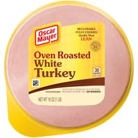 Oscar Mayer Oven Roasted White Turkey Cold Cuts, 16 Ounce