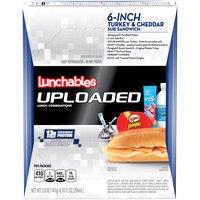 Oscar Mayer Lunchables Lunchables 6-Inch Turkey & Cheddar Sub Sandwich, 1 Each