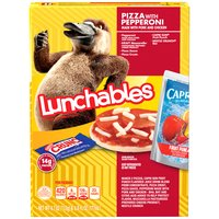 Oscar Mayer Lunchables Pepperoni Pizza Lunch Combo With Fruit Punch, 1 Each