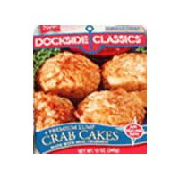 Dockside Classics Maryland Style Crab Cakes, 12 Ounce