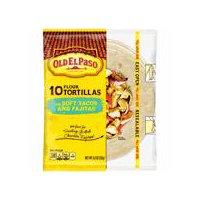 Old El Paso Old El Paso Flour Tortillas - Soft Tacos & Fajitas, 8.2 Ounce