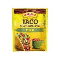 Old El Paso Taco Seasoning Mix, Mild, 1 Ounce