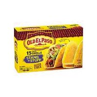 Old El Paso Old El Paso Stand 'n Stuff Shells - 15 Count, 7.1 Ounce