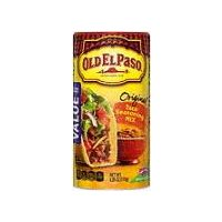 Perfect seasoning for Tacos and other Mexican meals. Value size.