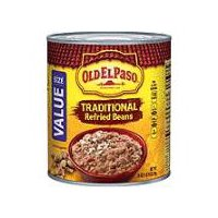 Old El Paso Traditional Refried Beans, 31 Ounce
