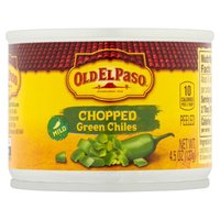 Old El Paso Chopped Green Chiles, 4.5 oz, 4.5 Ounce
