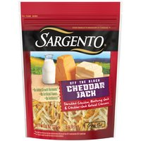 Sargento Cheddar Jack Fine Cut Shredded Cheese, 8 Ounce
