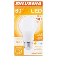 Sylvania LED 60 Watt Replacement Using, 1 Each