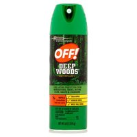 OFF! Deep Woods repellents provide long-lasting protection from biting insects. Ideal for use in heavily wooded areas.