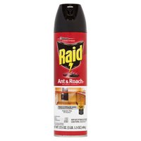 Raid Ant & Roach Killer kills fast on contact and keeps killing with residual action for up to four weeks.