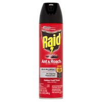 Raid Ant & Roach Killer kills on contact.