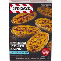 T.G.I. Friday's T.G.I. Friday's Loaded Potato Skins - Cheddar & Bacon, 632 Gram