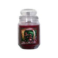 Star Candle Apothecary Jar - Black Cherry, 18 Ounce